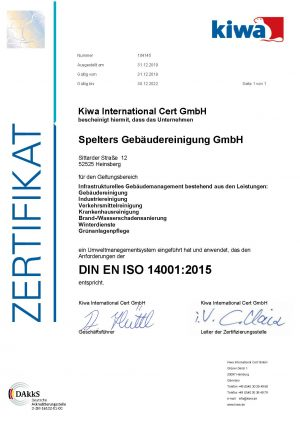 Spelters_14001_Zertifikat